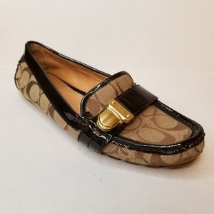 Coach Brown Pauleen Loafers Size 7.5